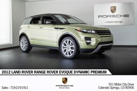 2012 Land Rover Range Rover Evoque Dynamic Premium:23 car images available