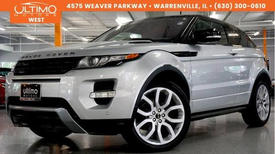 2012 Land Rover Range Rover Evoque Dynamic Premium:24 car images available