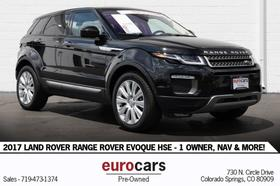 2017 Land Rover Range Rover Evoque HSE:24 car images available