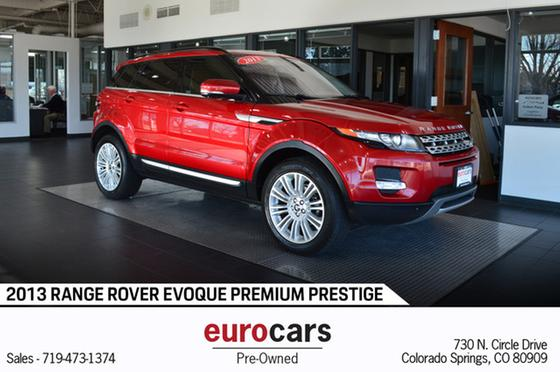2013 Land Rover Range Rover Evoque Prestige:24 car images available