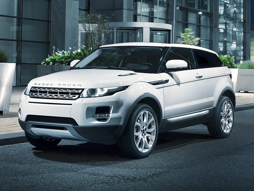 2012 Land Rover Range Rover Evoque Pure Plus : Car has generic photo