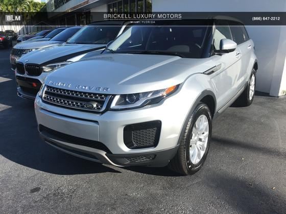 2019 Land Rover Range Rover Evoque SE:8 car images available