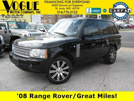 2008 Land Rover Range Rover HSE:24 car images available