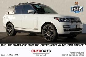 2015 Land Rover Range Rover HSE:24 car images available