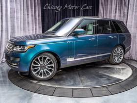 2016 Land Rover Range Rover SVAutobiography:24 car images available