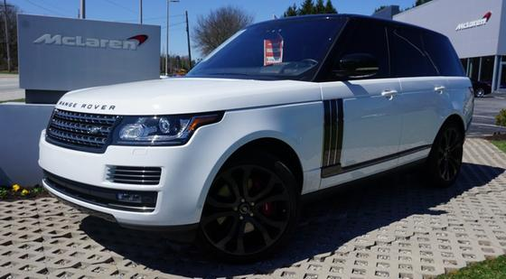 2017 Land Rover Range Rover SVAutobiography:13 car images available