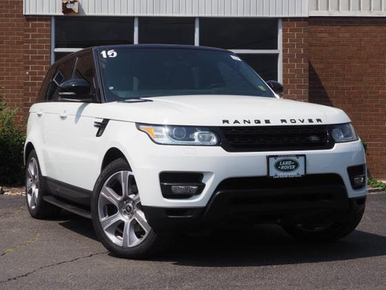 Range Rover Glen Cove >> 2015 Land Rover Range Rover Sport 3 0 Supercharged Hse For