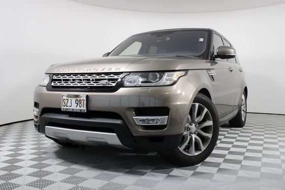 2016 Land Rover Range Rover Sport 3.0 Supercharged HSE:15 car images available