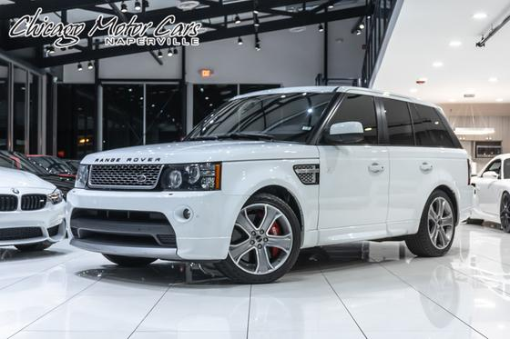 2012 Land Rover Range Rover Sport Autobiography:24 car images available