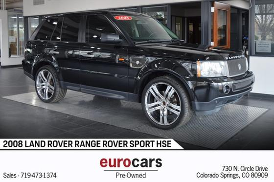 2008 Land Rover Range Rover Sport HSE:24 car images available