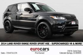 2014 Land Rover Range Rover Sport HSE:24 car images available