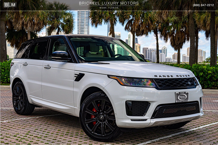 2019 Land Rover Range Rover Sport HST:24 car images available