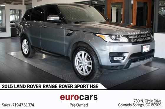 2015 Land Rover Range Rover Sport SE:24 car images available