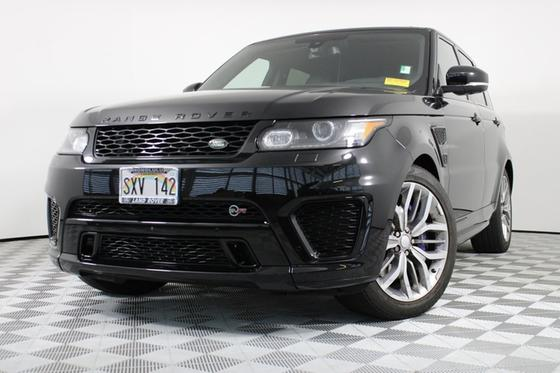 2016 Land Rover Range Rover Sport SVR:16 car images available