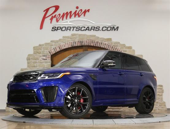 2019 Land Rover Range Rover Sport SVR:24 car images available