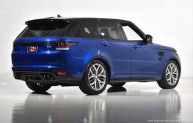 2016 Land Rover Range Rover Sport SVR