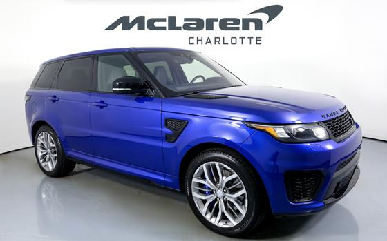 2017 Land Rover Range Rover Sport SVR:24 car images available