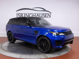 2017 Land Rover Range Rover Sport SVR:20 car images available