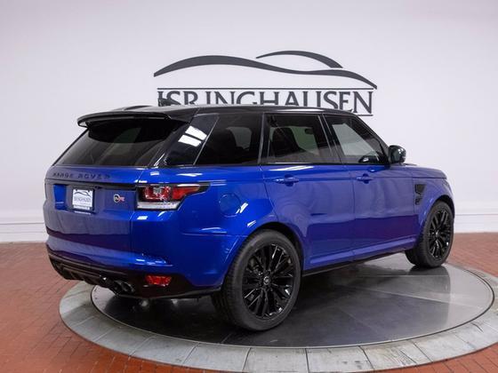 2017 Land Rover Range Rover Sport SVR