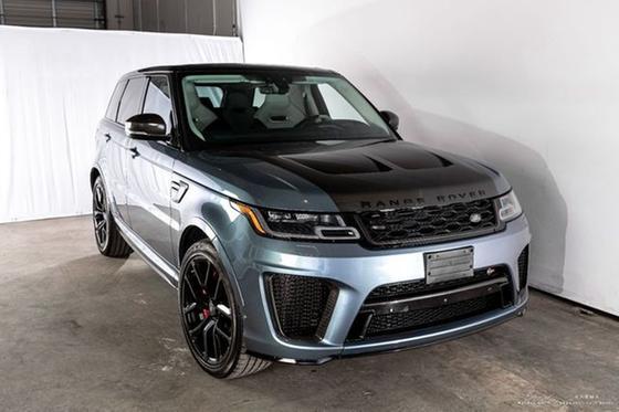 2019 Land Rover Range Rover Sport SVR