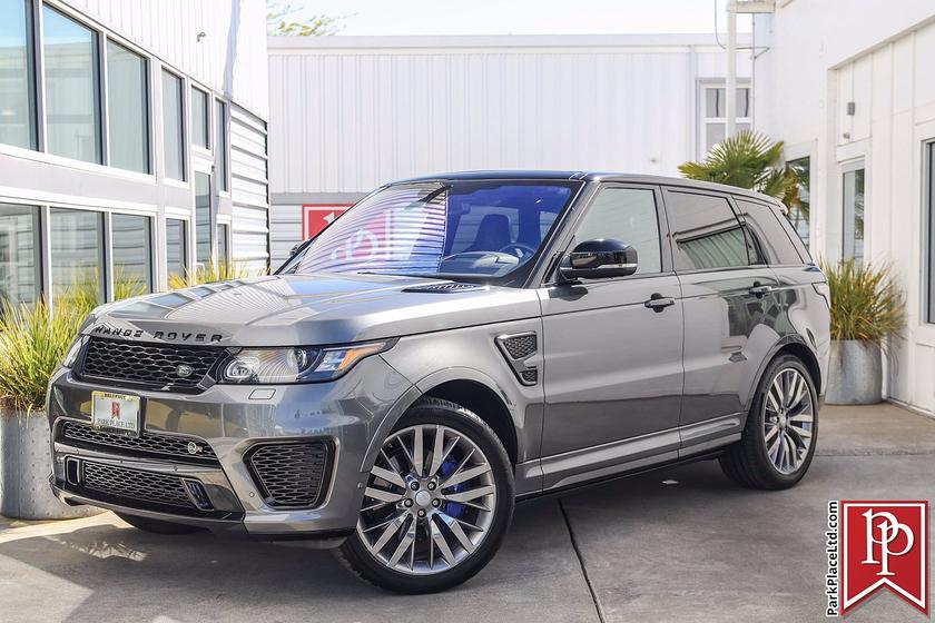 2016 Land Rover Range Rover Sport SVR : Car has generic photo