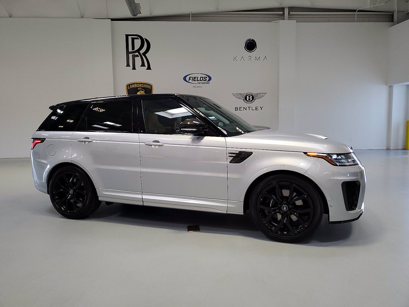 2021 Land Rover Range Rover Sport SVR:24 car images available