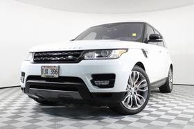 2016 Land Rover Range Rover Sport Supercharged:15 car images available