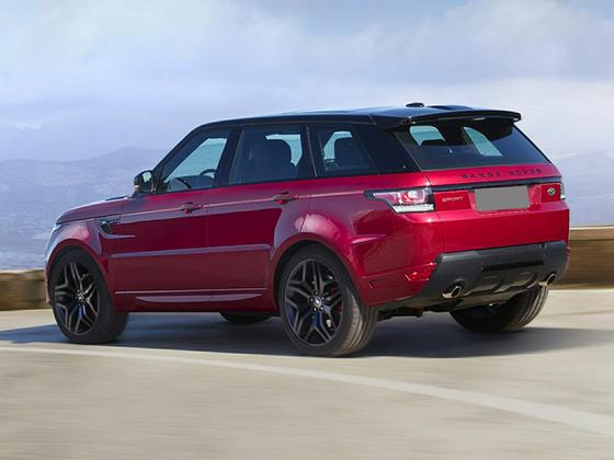 2017 Land Rover Range Rover Sport Supercharged : Car has generic photo