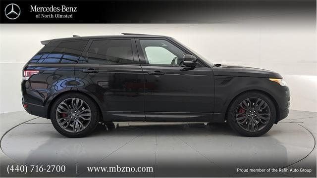 2017 Land Rover Range Rover Sport Supercharged:24 car images available
