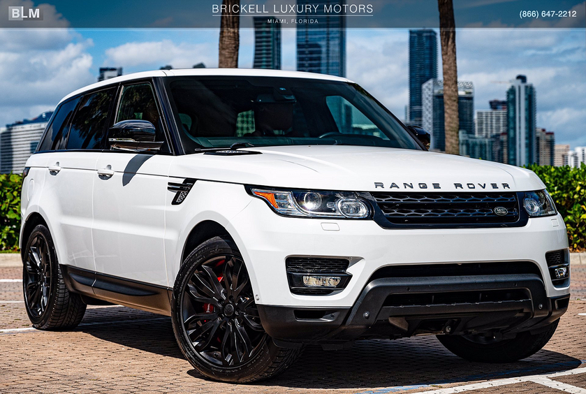 2015 Land Rover Range Rover Sport Supercharged:24 car images available
