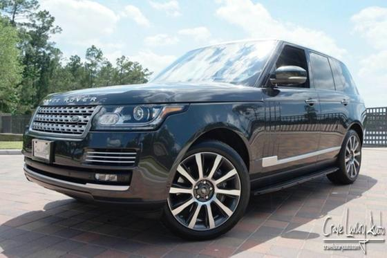 2014 Land Rover Range Rover Supercharged Autobiography:24 car images available