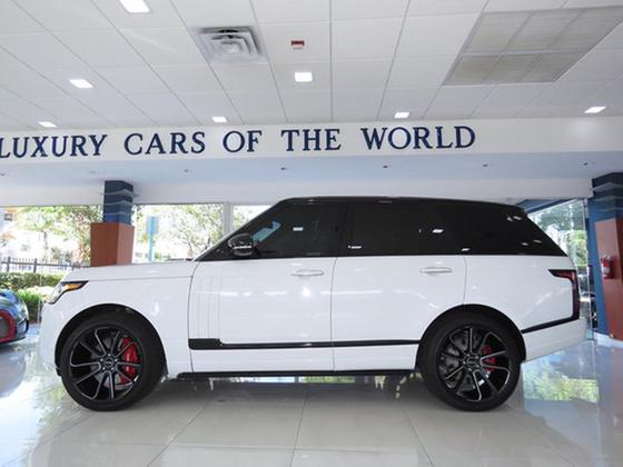 2013 Land Rover Range Rover Supercharged Autobiography:24 car images available