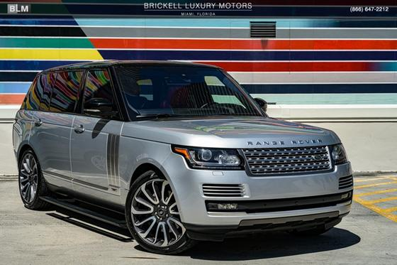 2016 Land Rover Range Rover Supercharged Autobiography:24 car images available