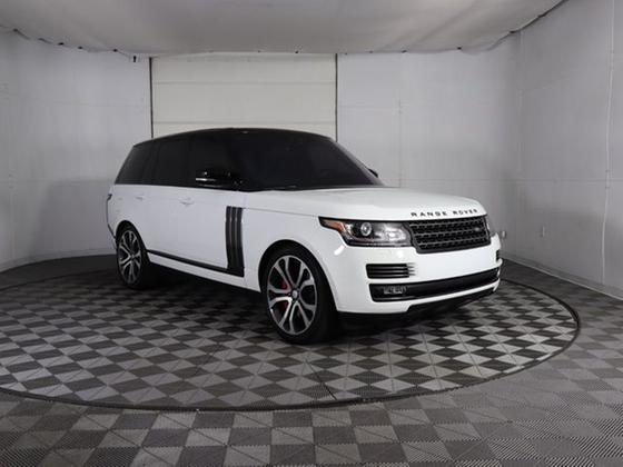 2017 Land Rover Range Rover Supercharged Autobiography