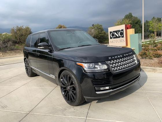 2014 Land Rover Range Rover Supercharged LWB:18 car images available