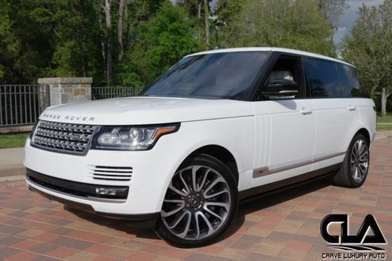 2016 Land Rover Range Rover Supercharged LWB:24 car images available