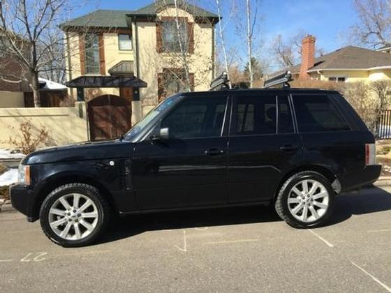 2008 Land Rover Range Rover Supercharged : Car has generic photo