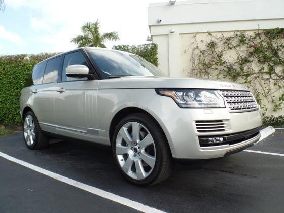 2013 Land Rover Range Rover Supercharged:12 car images available