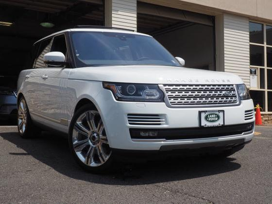 2017 Land Rover Range Rover Supercharged:23 car images available