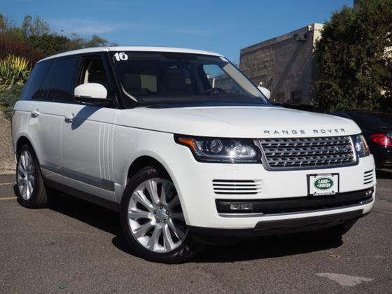 2016 Land Rover Range Rover Supercharged:20 car images available
