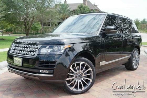 2014 Land Rover Range Rover Supercharged:23 car images available