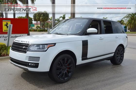 2015 Land Rover Range Rover Supercharged:23 car images available