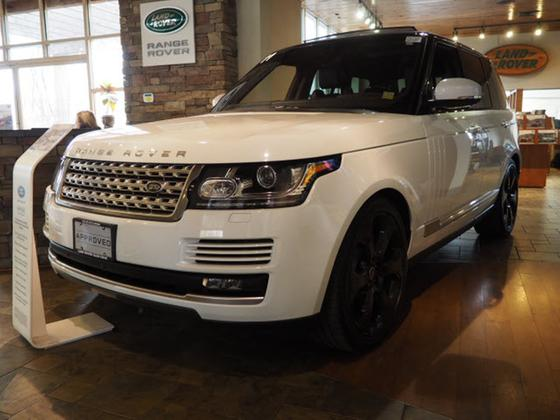 2017 Land Rover Range Rover Supercharged:20 car images available