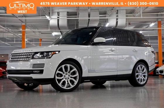 2014 Land Rover Range Rover Supercharged:10 car images available