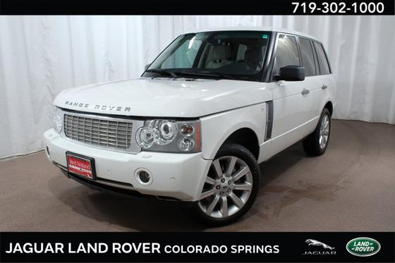2008 Land Rover Range Rover Supercharged:24 car images available
