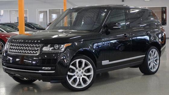 2016 Land Rover Range Rover Supercharged:12 car images available