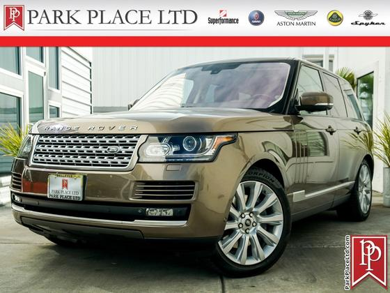 2014 Land Rover Range Rover Supercharged:8 car images available