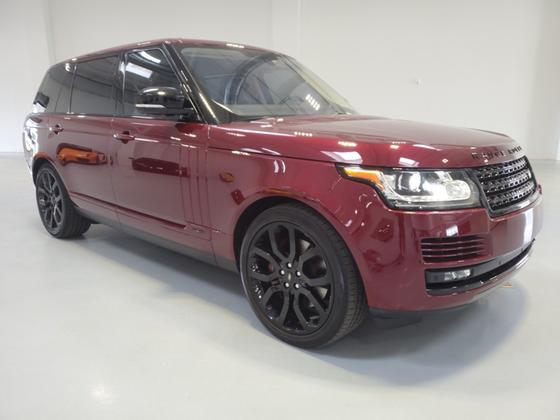 2016 Land Rover Range Rover Supercharged:24 car images available