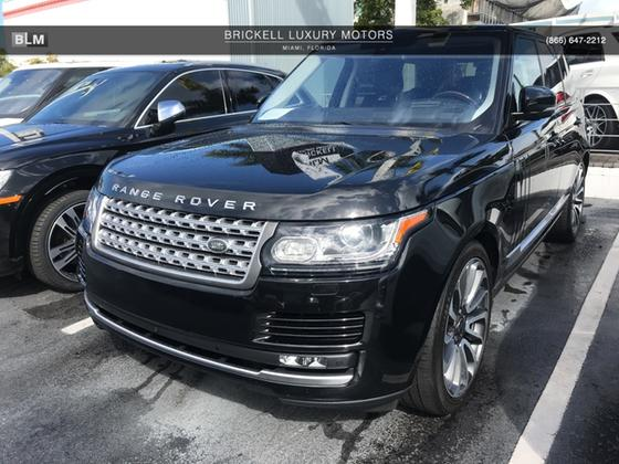 2016 Land Rover Range Rover Supercharged:8 car images available