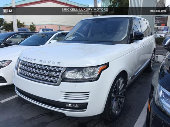 2016 Land Rover Range Rover Supercharged:7 car images available